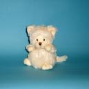 Bukowski Teddybär Ziggy als Katze in Weiß
