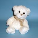 Teddybär Caspar in weiß von Bukowski